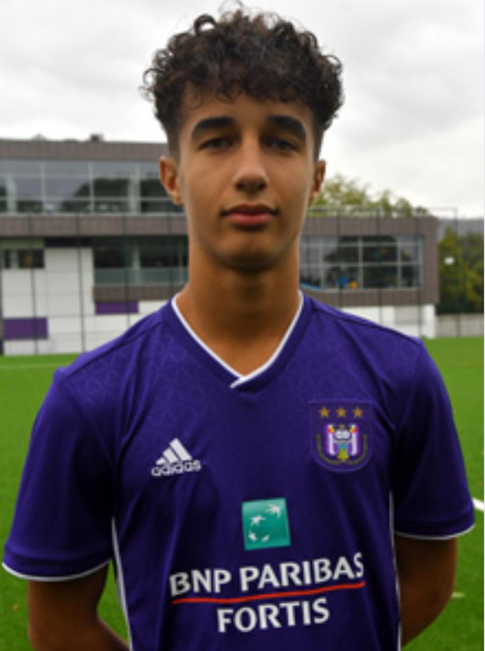 Luca Saihi Culeddu (Anderlecht U16) - Les joueurs tunisiens à l'étranger -  Tunisie-Foot