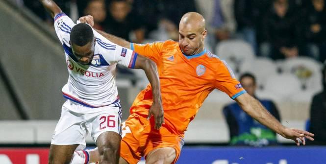 Aymen Abdennour face à l'Olympique Lyonnais