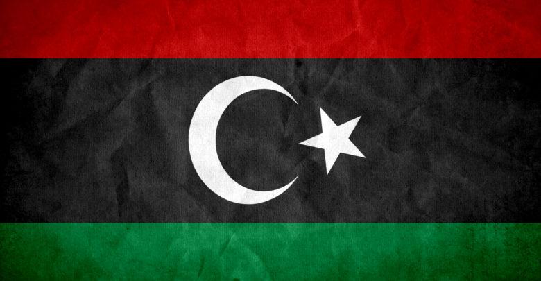 Drapeau Libye