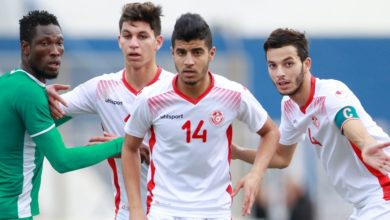 Photo de [EN U23] : Jordanie- Tunisie 0-2