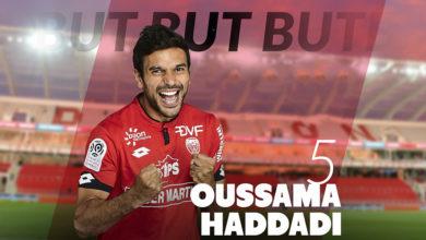 Photo de [Expatriés]: Oussama Haddadi buteur contre l'OGC Nice !