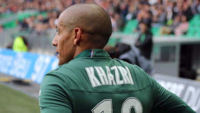 Photo de [Expatriés] : Khazri au repos forcé